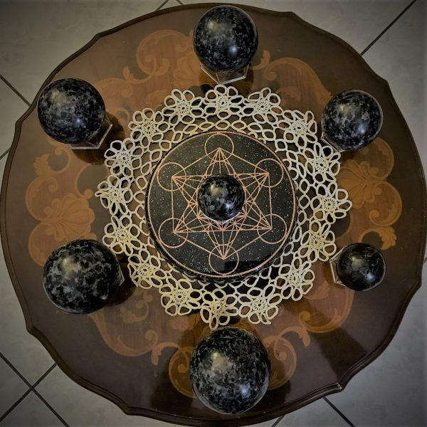 Mystic Merlinite (Indigo Gabbro)